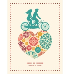 abstract decorative circles couple on vector image vector image