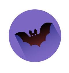 bat symbol vector image