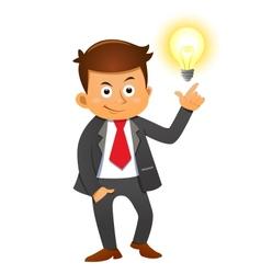 Businessman vector image