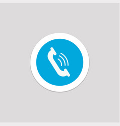 Cell phone element icon with a white background vector
