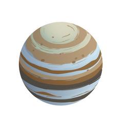 Isometric planet vector