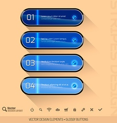 Modern User Interface vector image