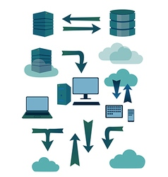 Sever database symbols vector