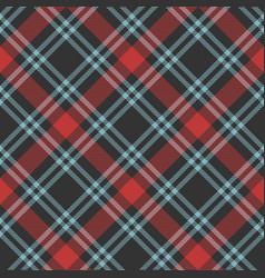 tartan merry christmas check seamless patterns vector image