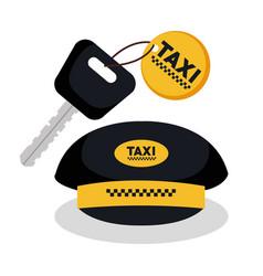 Taxi service app smart transport travel vector