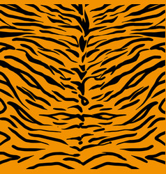 Tiger skin pattern vector