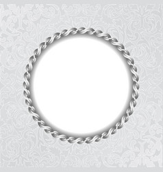 vintage background with decorative frame and vector image