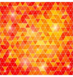 Abstract background of triangular polygons vector image vector image