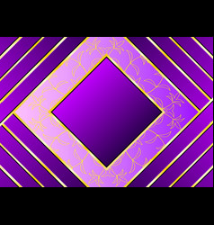 beautiful pattern with purple and gold stripes vector image