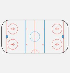 hockey arena backround eps 10 vector image