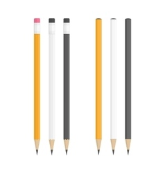 Realistic pencils vector image