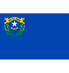 Nevedan state flag vector image vector image