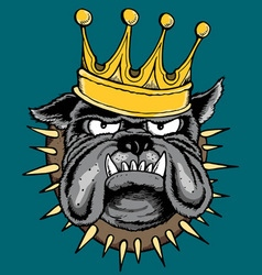 THE KING vector image vector image