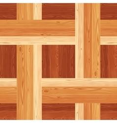 Netting Parquet Seamless Floor Pattern vector image