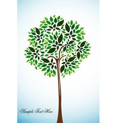 natural tree vector image vector image
