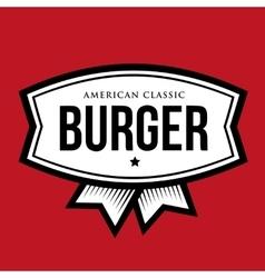 Burger - American Classic Vintage logo vector