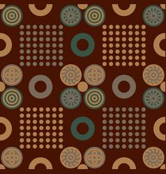 chinese regular seamless pattern vector image