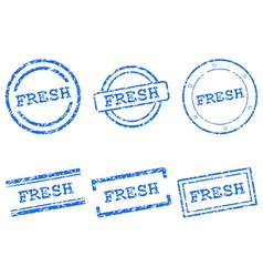 Fresh stamps vector image