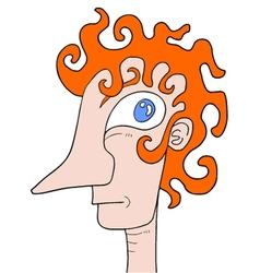 Imaginative head vector