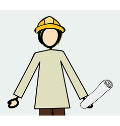Professions design over white background vector