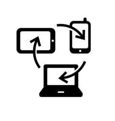 synchronization symbol vector image
