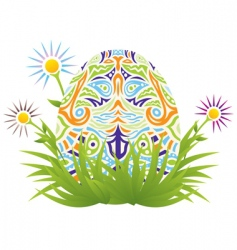Easter backgrounds vector image vector image