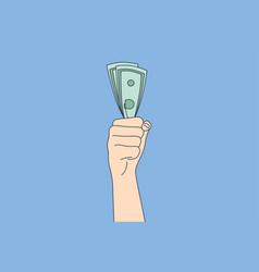 business success goal achievement wealth money vector image