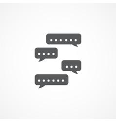 Consultation Icon vector image