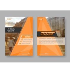 Cover design annual report vector