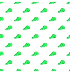 Green playground slide pattern cartoon style vector
