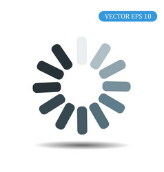 loading icon eps 10 vector image