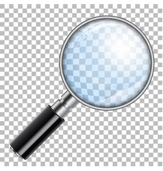 magnifying glass magnify vector image