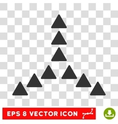 Outside Direction Round Eps Icon vector