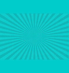 pop art vintage radial halftone background vector image