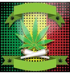 Marijuana-cannabis-joint vector