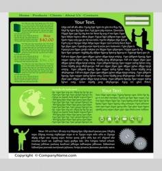 web site vector image vector image