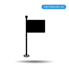 flag icon eps 10 vector image