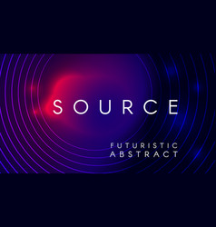 Futuristic abstract background design vector