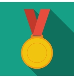 Gold medal winner vector