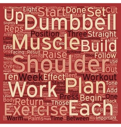 How to build shoulders text background wordcloud vector