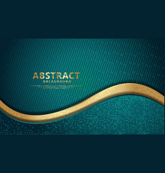 Wave abstract overlap layer on black stripes vector