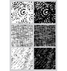 abstract black and white seamless 380 vector image
