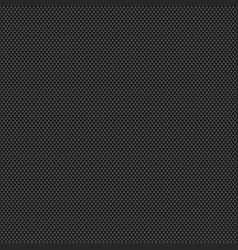 black seamless texture similar to carbon fabric vector image