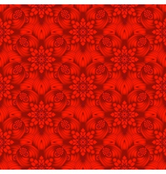 Bright red gradient seamless pattern vector