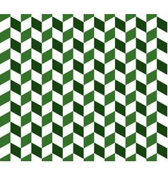 green herringbone check pattern vector image