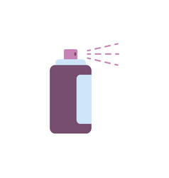 Isolated hair spray icon flat design vector