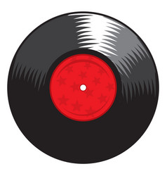 lp record vector image