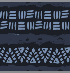 Abstract simple ethnic seamless pattern vector
