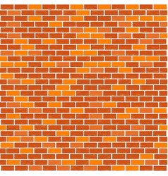red brick template vector image