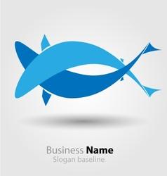 Abstract brand logo vector